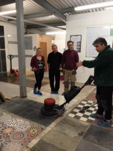 Training in Tile and Grout Cleaning