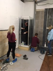 Renovating Tiled Shower Cubicles